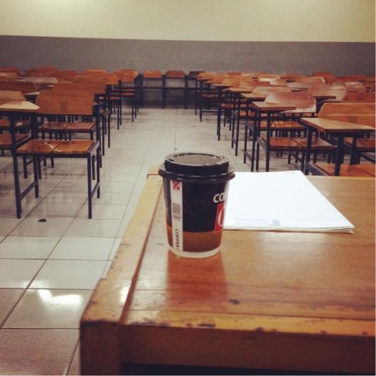 coffee - empty class
